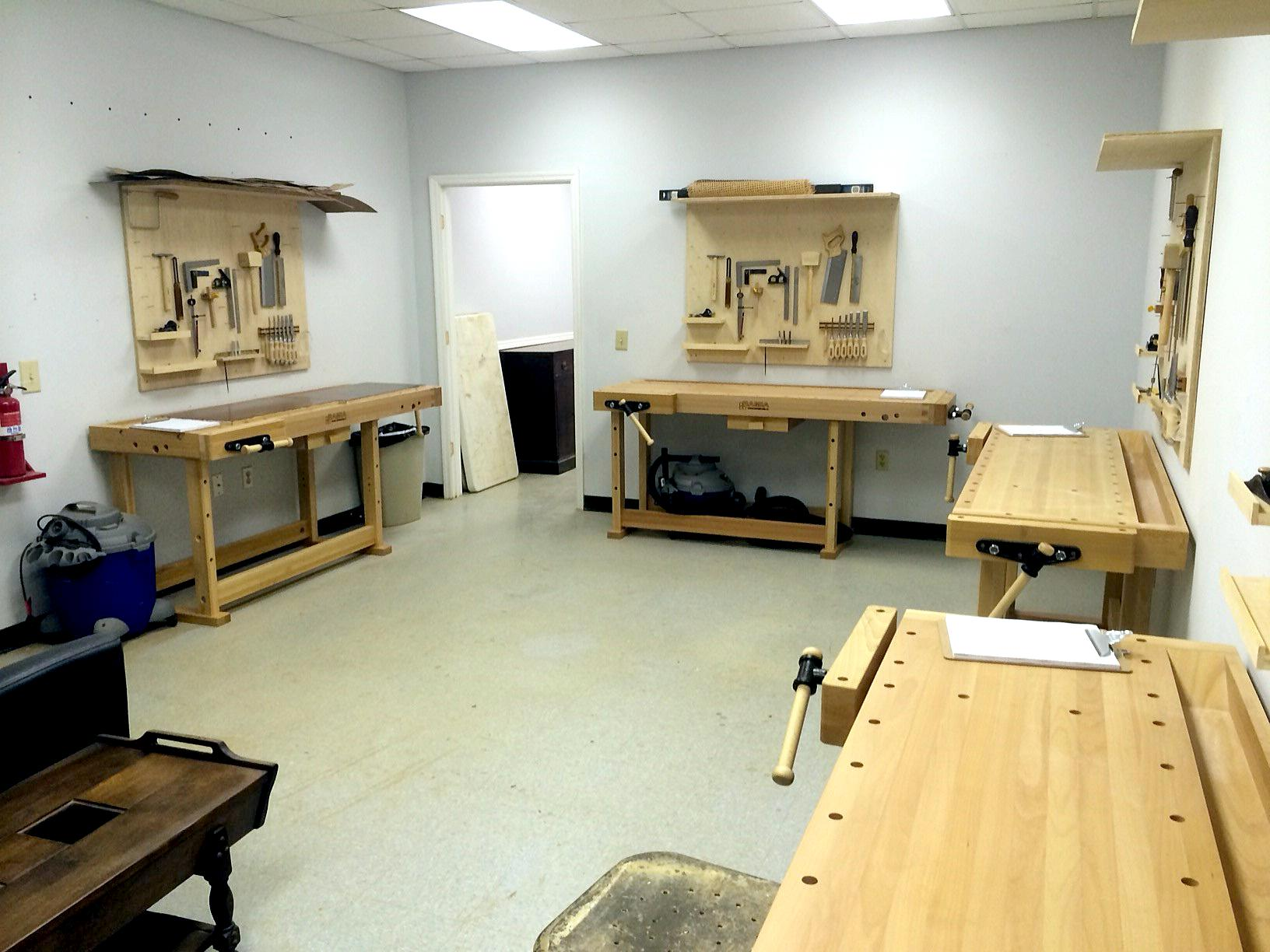 Charleston Woodworking School In The Studio
