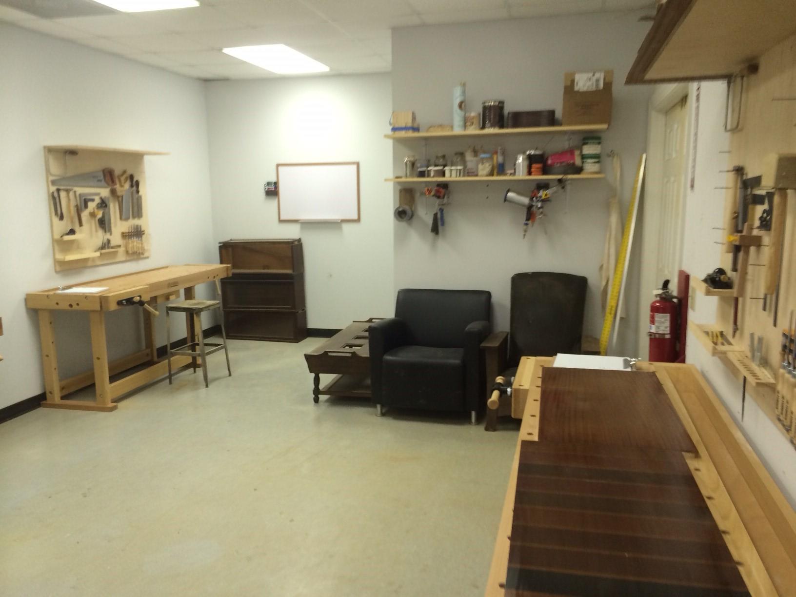 Charleston Woodworking School In The Studio